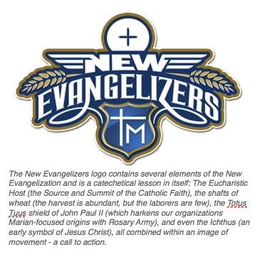 New Evangelizers Logo Explained