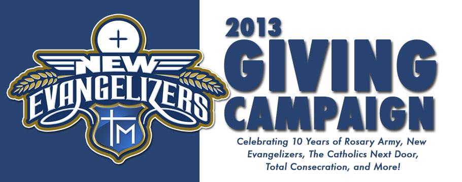 New-Evangelizers-GIVING-2013